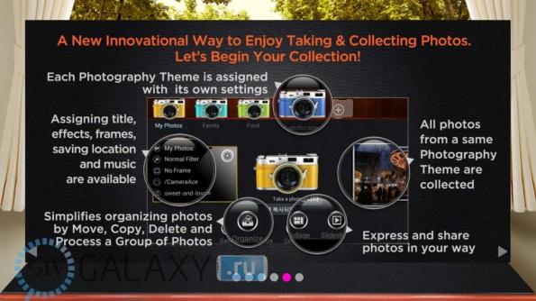 Описание функций CameraAce