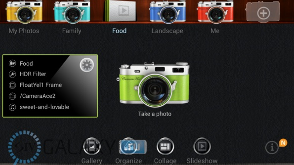 Программа CameraAce для Galaxy S4