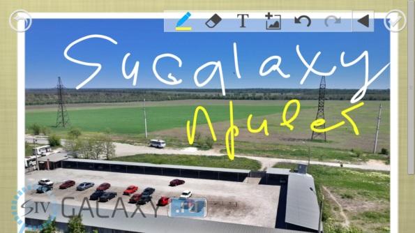 Открытки в CameraAce для Galaxy S4