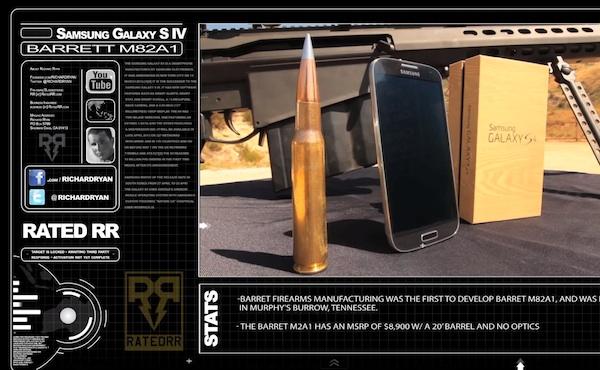 Краш и дроп тесты Samsung Galaxy S IV (видео)