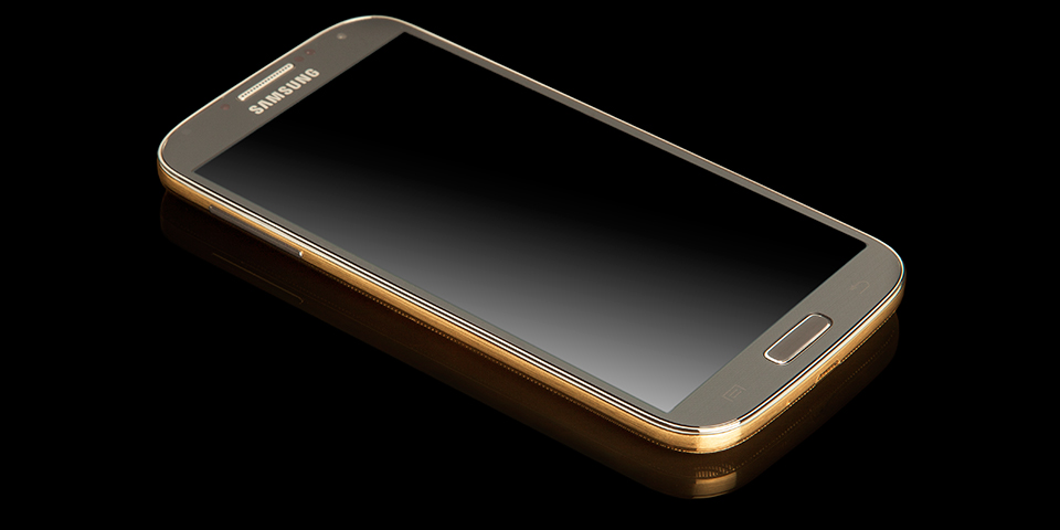 Золотой Галакси С4 - фото лицевой панели