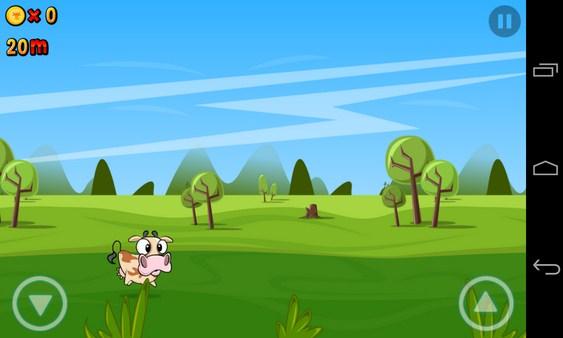 Run Cow Run - игра на Android