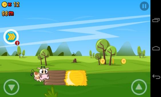 Run Cow Run - игра на Galaxy SIV