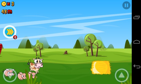 Run Cow Run - игра на Samsung Galaxy S4