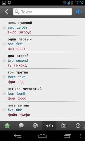 Русско-английский разговорник для смартфонов Galaxy S4