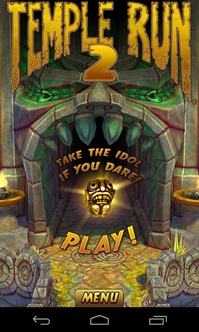 Temple Run 2 - раннер на Android