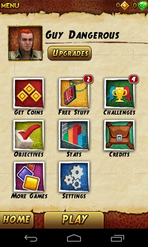 Temple Run 2 - игра на Samsung Galaxy SIV
