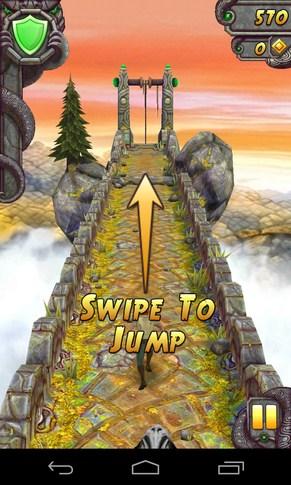 Temple Run 2 - игра на Galaxy S4
