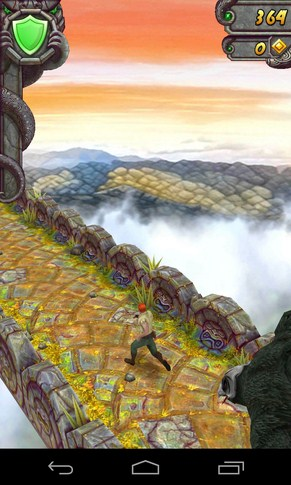 Temple Run 2 - лучший раннер на Samsung Galaxy S4