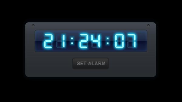 Цифровые часы для Галакси С4
