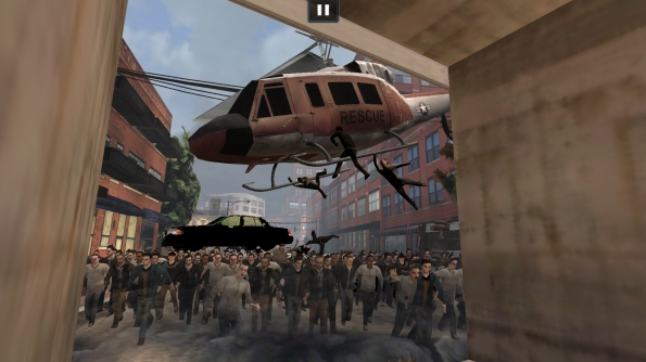 Игра World War Z для Samsung Galaxy S4 - отряды зомби нападают