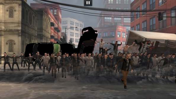 Игра World War Z для Samsung Galaxy S4 - стада зомби атакуют