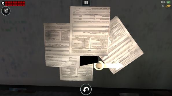 Игра World War Z для Samsung Galaxy S4 - разбор бумаг