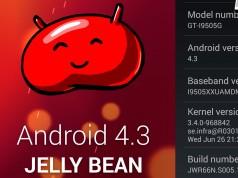 Прошивка Android 4.3 для Galaxy S4 I9505