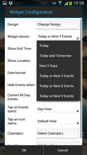 Business Calendar - календарь на Галакси С4