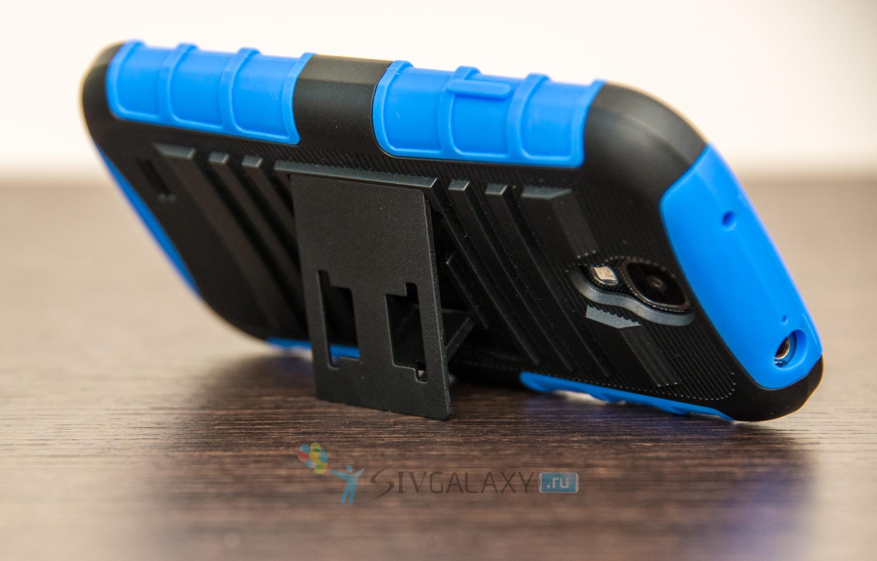 Чехол из резины для Galaxy S4 i9505