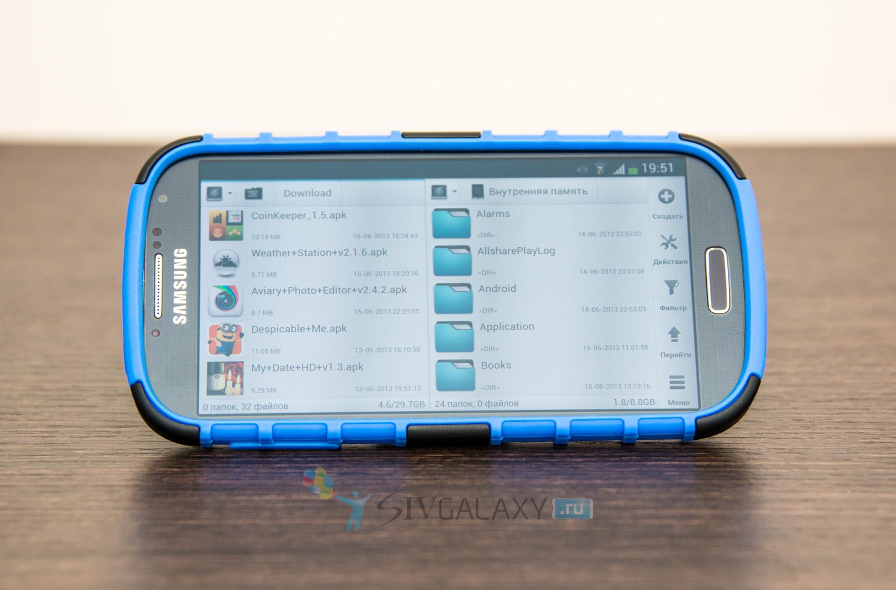 Чехол и кобура для Galaxy S4 i9500