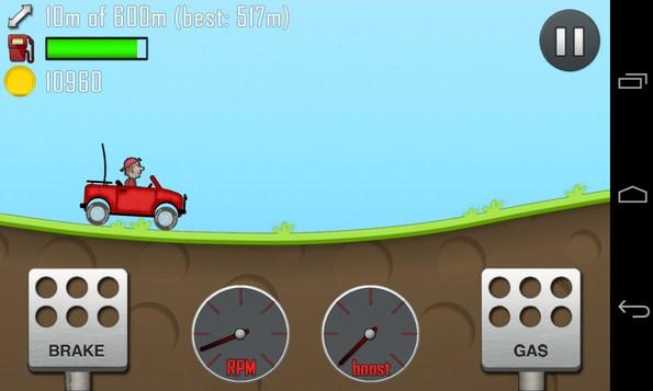 Hill Climb Racing - игра на смартфон Galaxy SIV