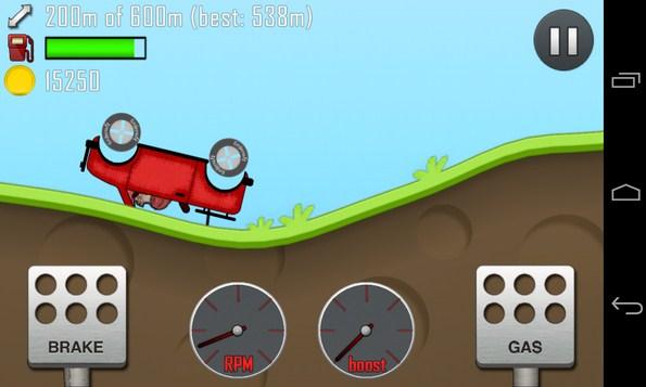 Hill Climb Racing - игра-аркада на Galaxy S4