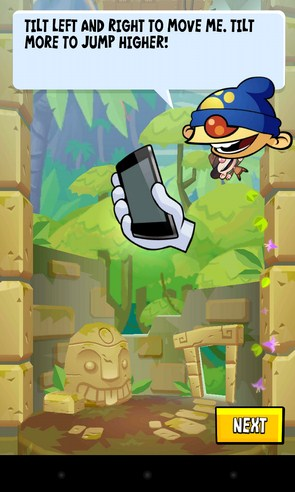 Icy Tower 2 Temple Jump - игра на Samsung Galaxy S4