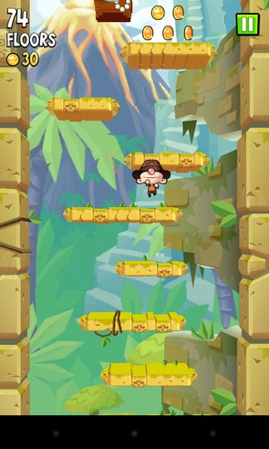 Icy Tower 2 Temple Jump - джампер на Android