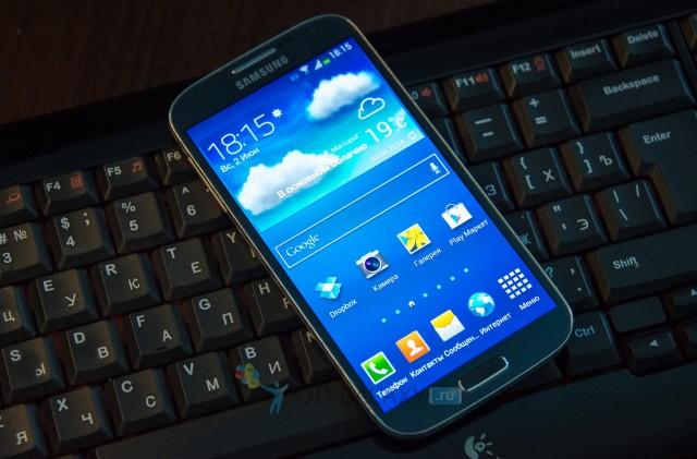 Клавиатура и Samsung Galaxy S4