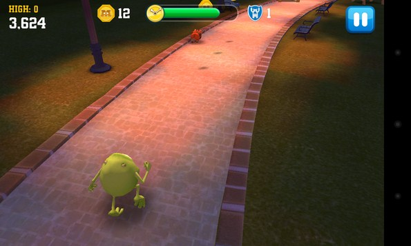 Monsters University аркада на Android