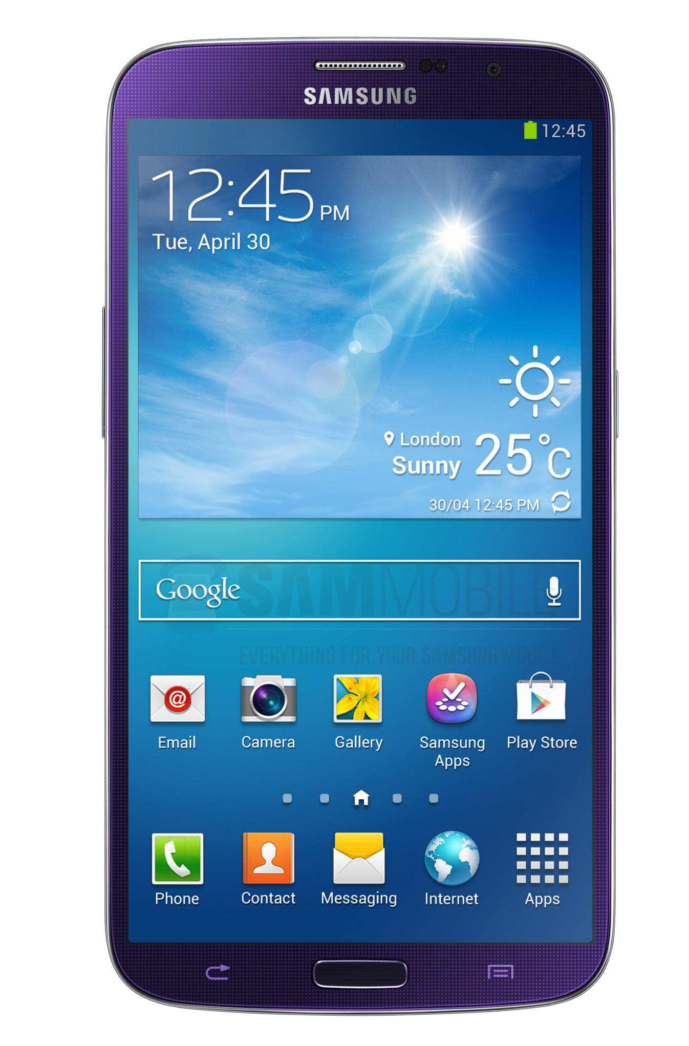 Galaxy Mega 6.3 в новом цвете Plum Purple