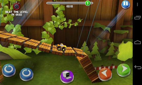Pocket Trucks - игра аркада на Galaxy SIV