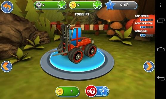 Pocket Trucks - игра аркада на Android