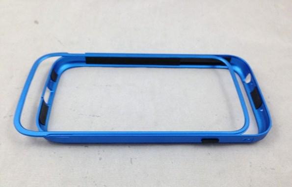 Бампер для Samsung Galaxy S4 из металла