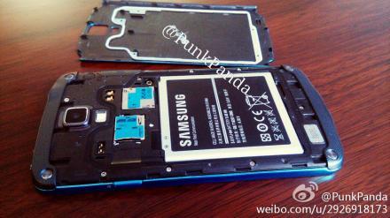 Samsung Galaxy S4 Active Blue Arctic - батарея
