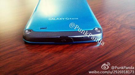 Samsung Galaxy S4 Active Blue Arctic - нижняя часть