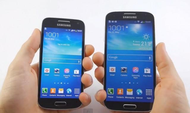 Samsung Galaxy S4 Mini внешний вид