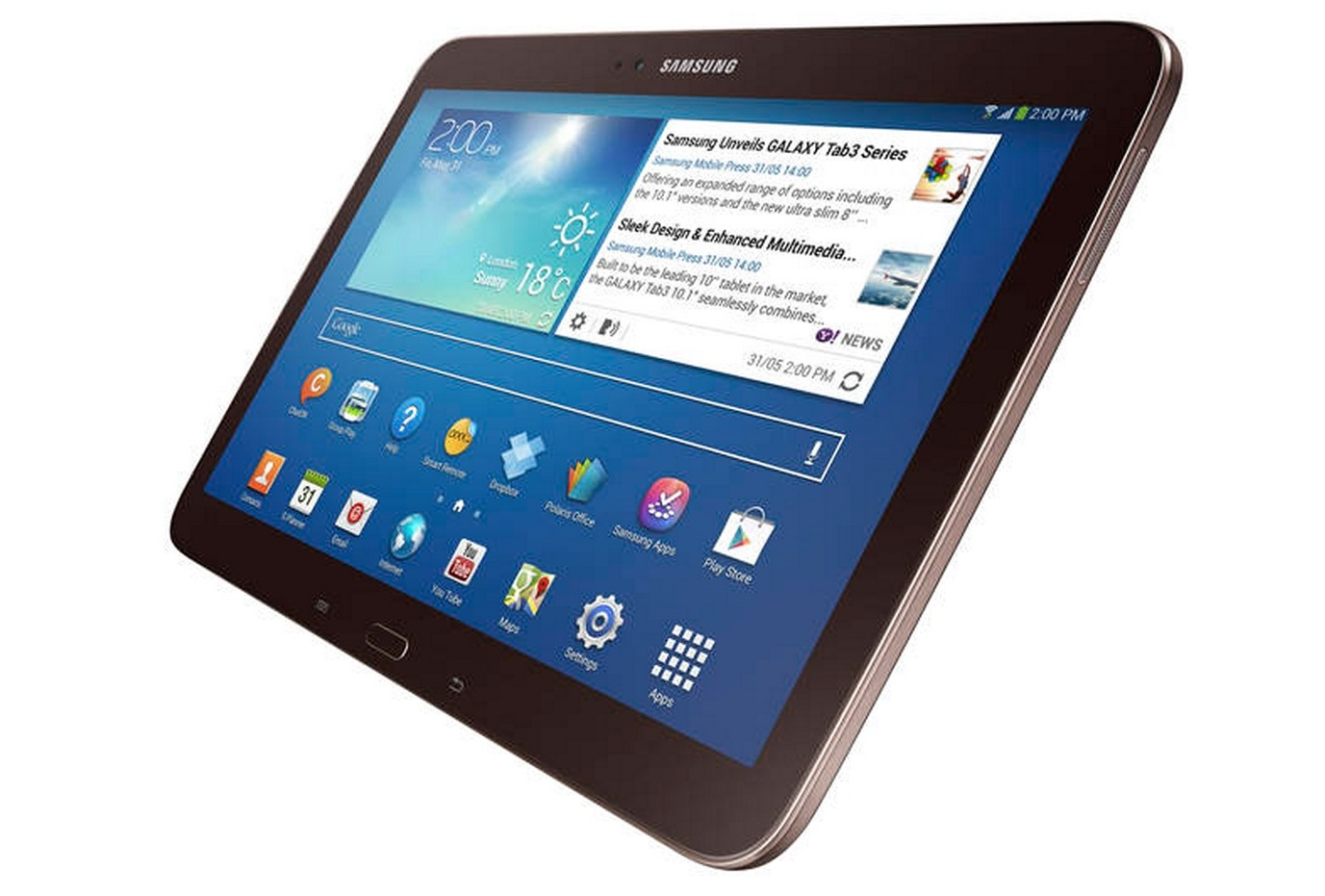 Samsung Galaxy Tab 3 10.1 - характеристики
