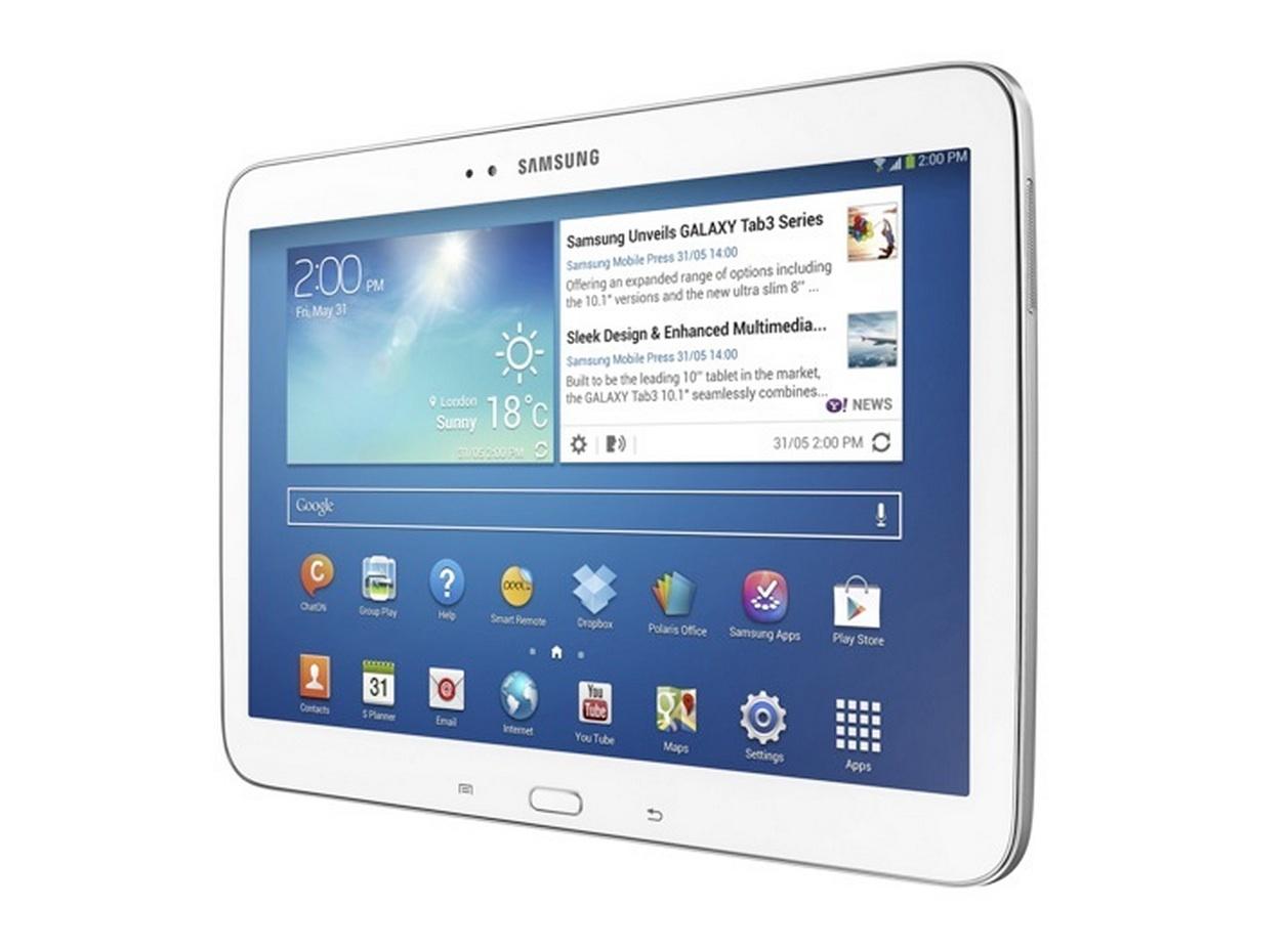 Samsung Galaxy Tab 3 10.1 - белый