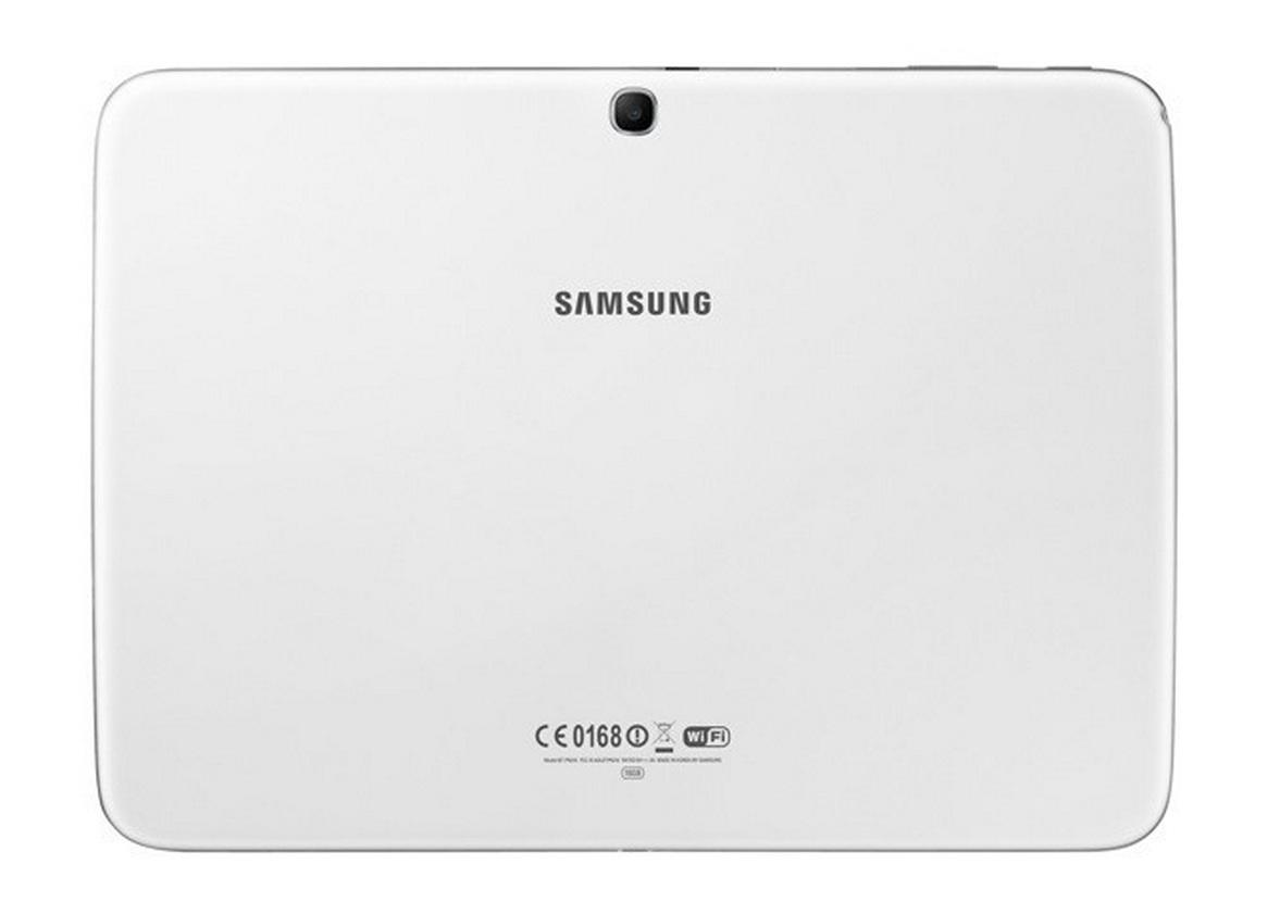 Samsung Galaxy Tab 3 10.1 - белый, задняя крышка