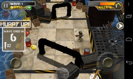 Total Recoil - игра-аркада на Galaxy S4
