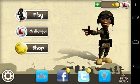 Total Recoil - игра  на Samsung Galaxy S4