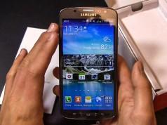 Распаковка Samsung Galaxy S4 Active (видео)