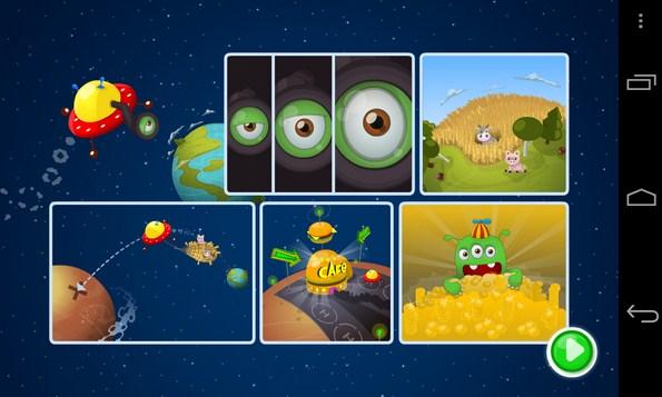 Yummy Little Planet  - игра на Samsung Galaxy S4