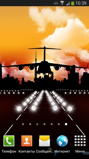 Aircraft Pro Live Wallpaper для Android