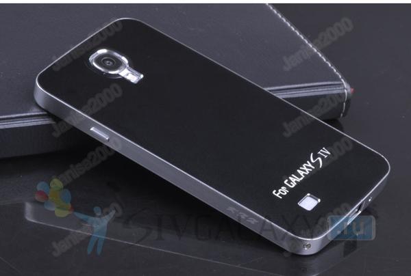 Чехол из алюминия для Samsung Galaxy S4 - черный