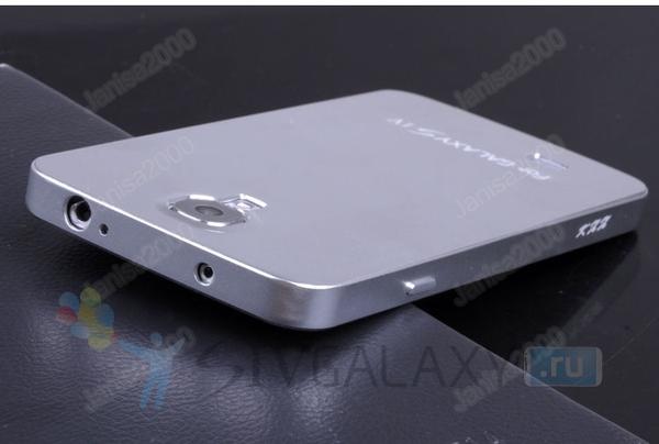 Чехол из алюминия для Samsung Galaxy S4 - серебристый цвет