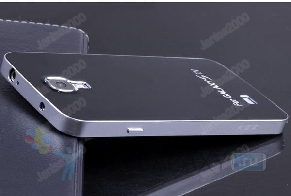 Стильный кейс из алюминия для Galaxy S4