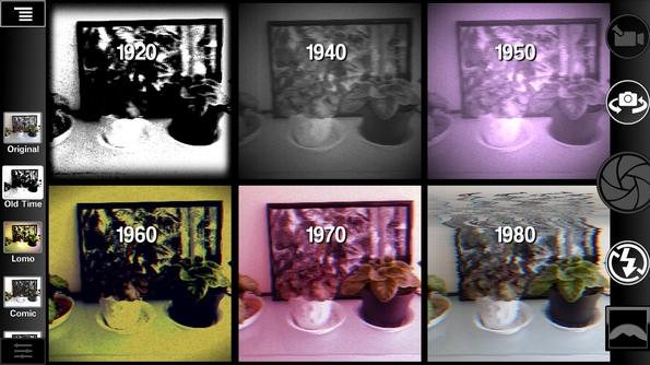 Camera 2 - старинные эффекты