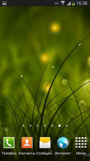 Colorful Summer Meadow - живые обои для Галакси С4