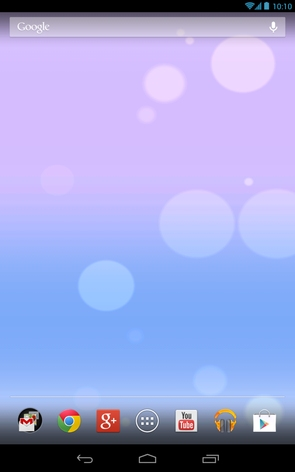 iOS 7 Live Wallpaper - рабочий стол