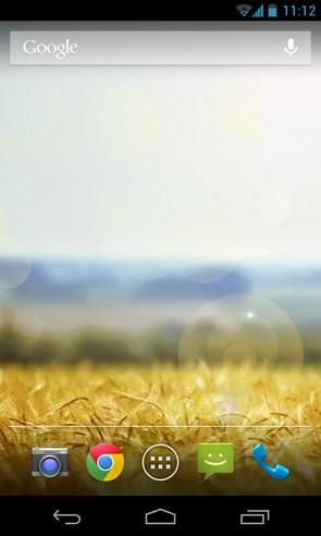 Summer Day - интерактивные обои на Samsung Galaxy SIV