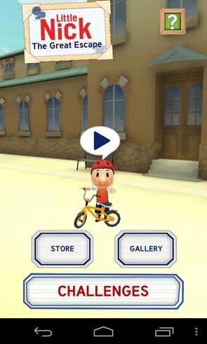 Little Nick - игра-аркада на Samsung Galaxy SIV